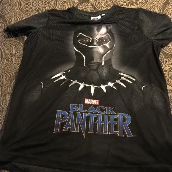 5e592e37 Marvel Shirts & Tops | Black Panther T Shirt | Poshmark
